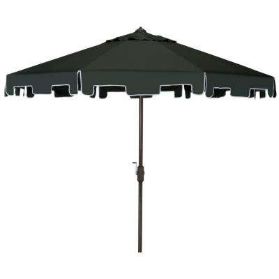 Preferred Hyperion Market Umbrellas With Drape – Patio Umbrellas – Patio Furniture – The Home Depot (View 7 of 25)