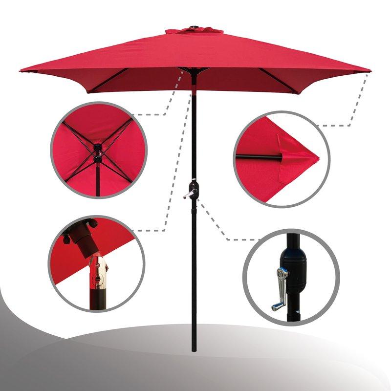 Preferred Iyanna Market Umbrellas Within Bradford Patio  (View 19 of 25)