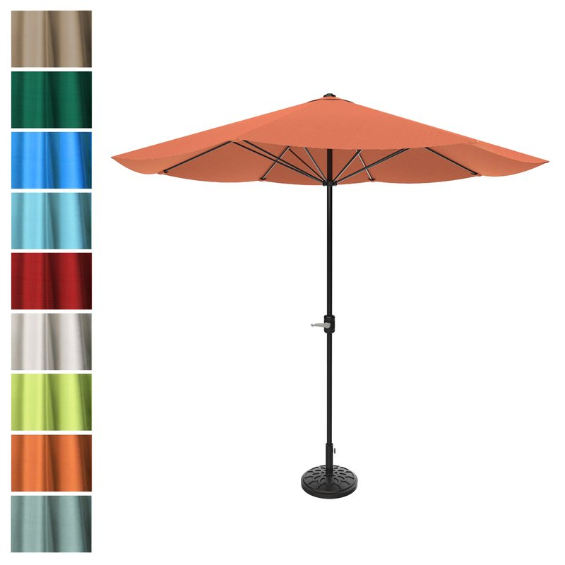 Preferred Kelton 9' Market Umbrella Within Kelton Market Umbrellas (View 20 of 25)