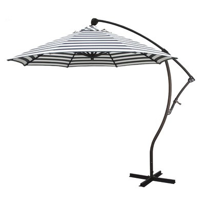 Preferred Kizzie Market Cantilever Umbrellas Throughout Beachcrest Home April 9' Cantilever Umbrella (View 8 of 25)