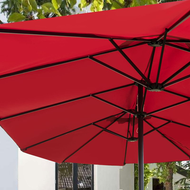 Preferred Lagasse Market Umbrella Within Lagasse Market Umbrellas (View 7 of 25)