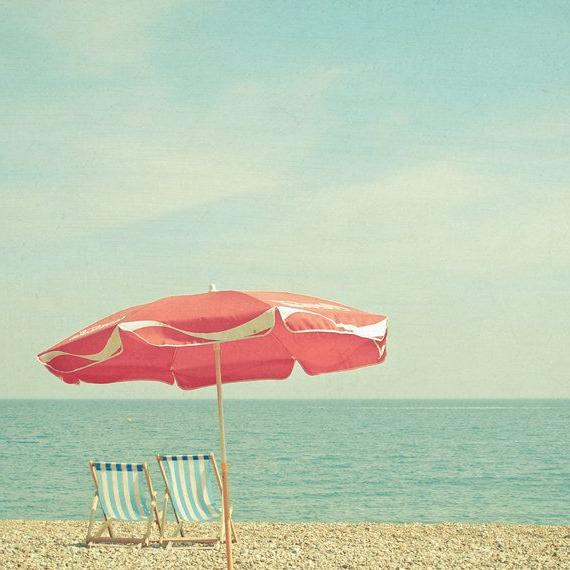 Preferred Landscape Photography, Seaside Decor, Beach Umbrella Art, Parasol Inside Seaside Beach Umbrellas (View 11 of 25)
