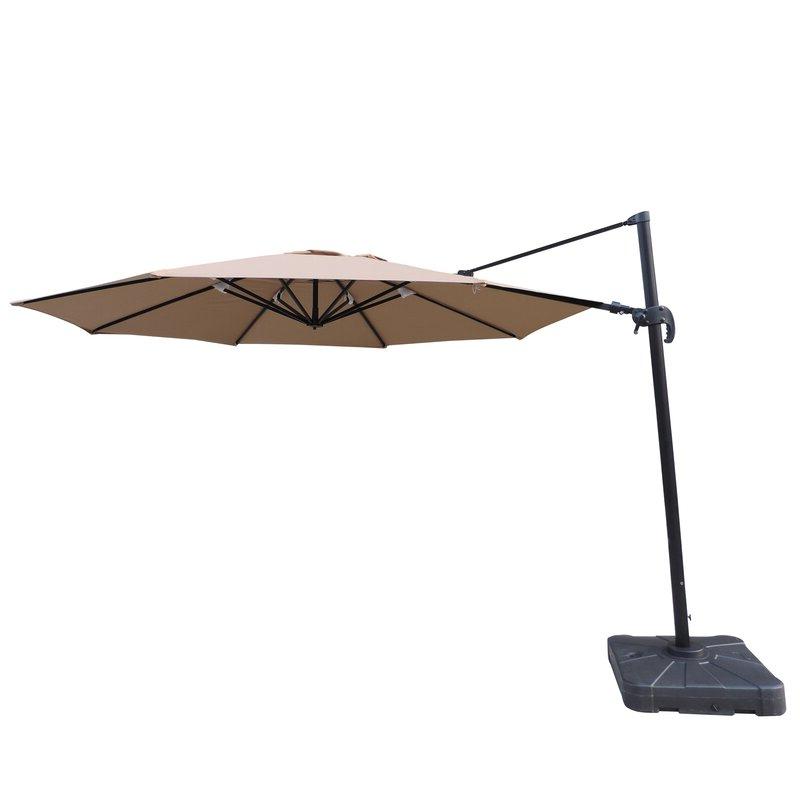 Preferred Lennie 13' Cantilever Sunbrella Umbrella With Regard To Lennie Cantilever Sunbrella Umbrellas (View 2 of 25)