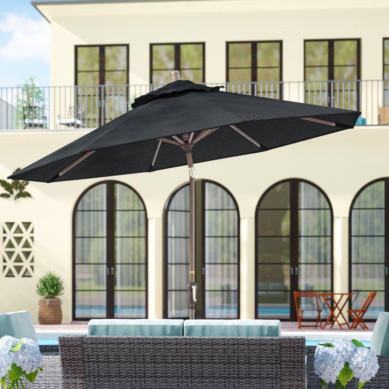 Preferred Mullaney 9' Market Umbrella With Mullaney Market Sunbrella Umbrellas (View 20 of 25)