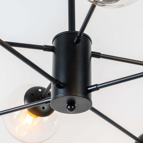 Preferred Star Shaped Pendant Light 8 Spheres – Brecht With Brecht Lighted Umbrellas (View 25 of 25)