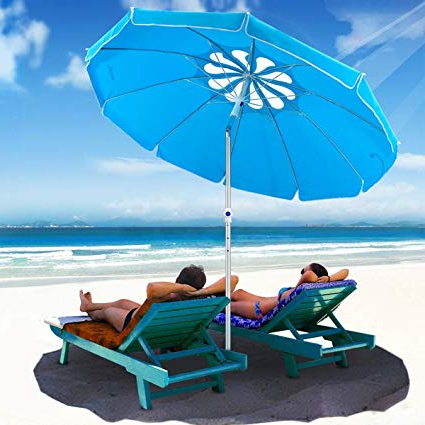 Preferred Tilt Beach Umbrellas Inside Movtotop  (View 8 of 25)