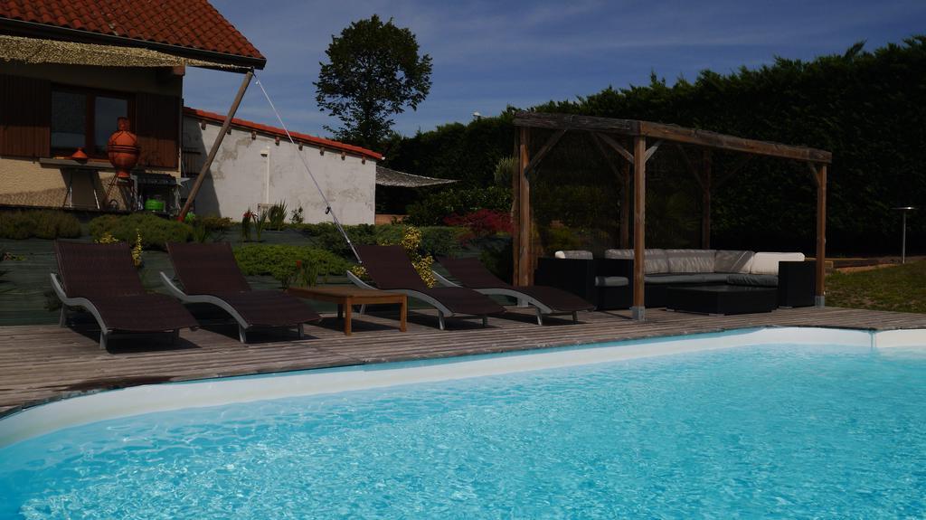Preferred Villa Gergovia, Pérignat Lès Sarliève, France – Booking Pertaining To Dore Patio Cantilever Umbrellas (View 23 of 25)