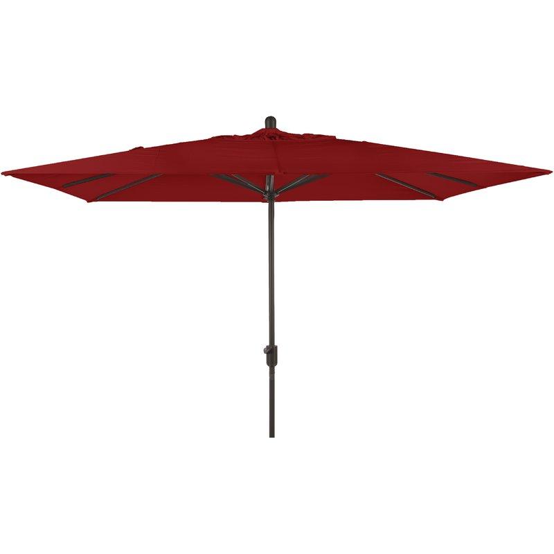 Preferred Wieczorek Auto Tilt Rectangular Market Sunbrella Umbrellas Within Alexander 10' X  (View 13 of 25)