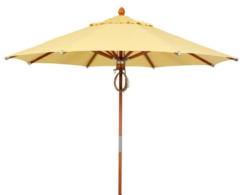 Prestige 11' Market Umbrella Intended For 2018 Alexander Elastic Rectangular Market Sunbrella Umbrellas (View 11 of 25)