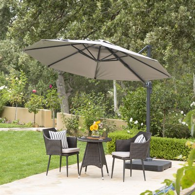 Products Pertaining To Most Up To Date Zadie Twin Rectangular Market Umbrellas (View 15 of 25)