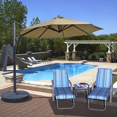 Products Regarding Emely Cantilever Umbrellas (View 6 of 25)