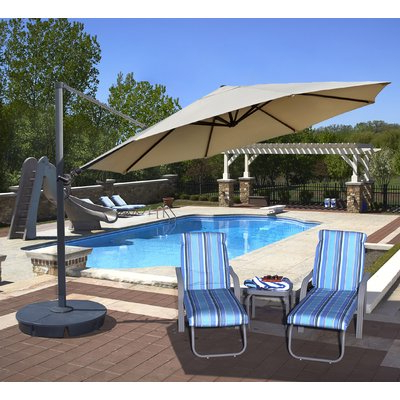 Featured Photo of Lennie Cantilever Sunbrella Umbrellas
