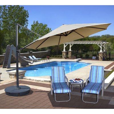 Featured Photo of Lennie Cantilever Sunbrella Umbrellas