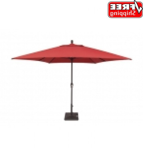 Recent Carlton  Rectangular Market Umbrellas Throughout Best Selection Rectangular Market Umbrellas – Featuring Sunbrella (View 8 of 25)