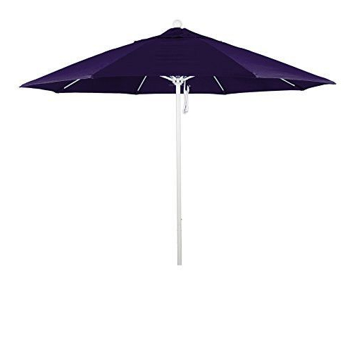 Recent Eclipse Collection 9' Fiberglass Market Umbrella Pulley Open Matted pertaining to Lagasse Market Umbrellas