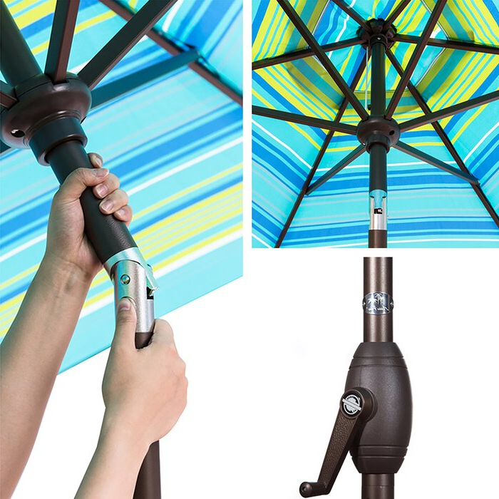 Recent Flitwick 9' Market Umbrella Pertaining To Flitwick Market Umbrellas (View 8 of 25)