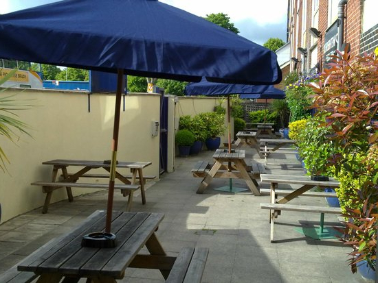 Recent Havant Market Umbrellas Intended For Typical Wetherspoons – Review Of The Parchment Makers, Havant (View 13 of 25)