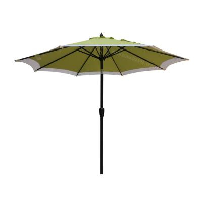 Recent Lanai Market Umbrellas within Lanai 9 Ft. Half Market Patio Umbrella In Cilantro Green Polyester
