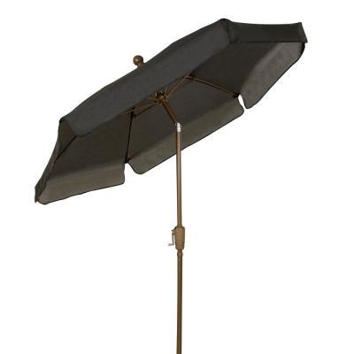Recent Launceston Rectangular Market Umbrellas in Island Umbrella Adriatic 6.5 Ft. X 10 Ft. Rectangular Aluminum