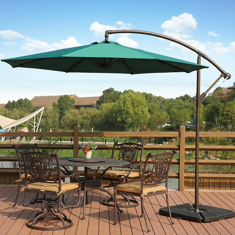 Recent Lora Market Umbrellas Regarding Karr 10' Cantilever Umbrella (View 20 of 25)