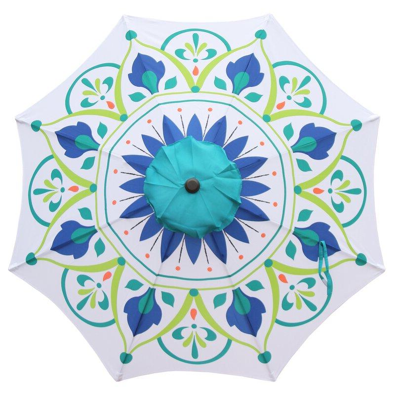 Recent Sittard Market Umbrellas Throughout Sittard 9' Market Umbrella (View 16 of 25)