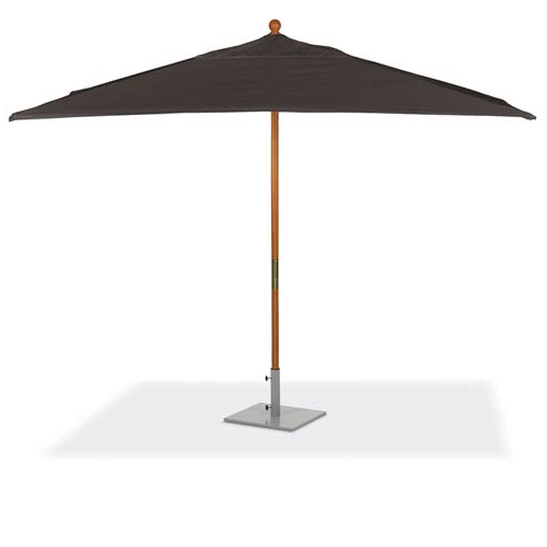 Recent Solid Rectangular Market Umbrellas Pertaining To Oxford Garden 10 Ft (View 13 of 25)