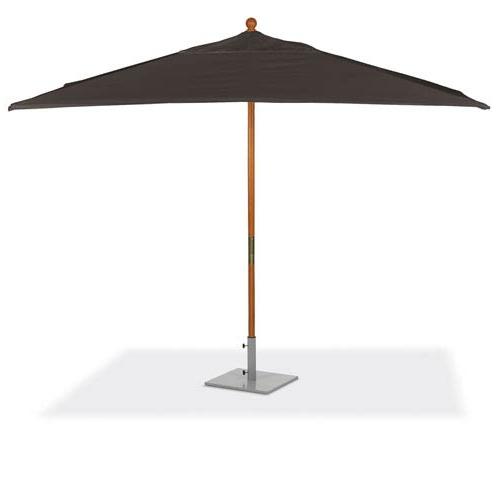 Recent Solid Rectangular Market Umbrellas Pertaining To Oxford Garden 10 Ft (View 17 of 25)