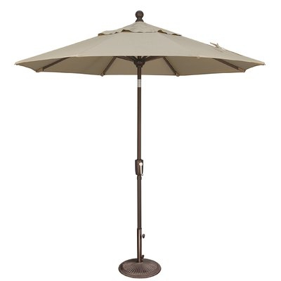 Recent Wieczorek Auto Tilt Rectangular Market Sunbrella Umbrellas Within Sol 72 Outdoor Cooper  (View 15 of 25)