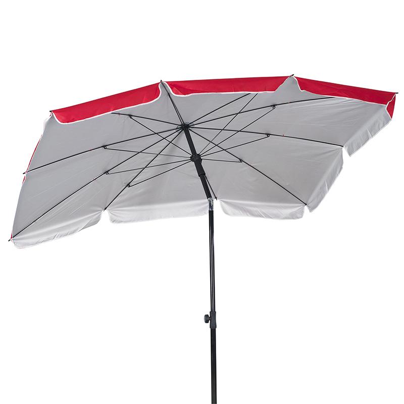 Rectangular Tilt Beach Umbrella – Assorted Inside Current Tilt Beach Umbrellas (View 20 of 25)