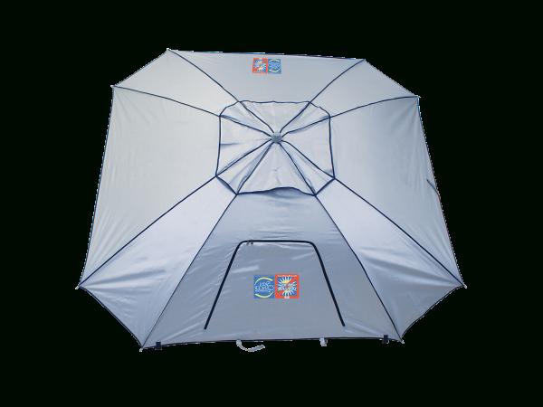 Rio Beach Total Sun Block Extreme Shade 8 Ft. Sun Shelter with regard to 2018 Sun Shelter Beach Umbrellas