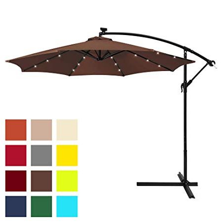 Ryant Market Umbrellas intended for Most Popular 10 Best Cantilever Umbrella Reviewsconsumer Report In 2019 - The