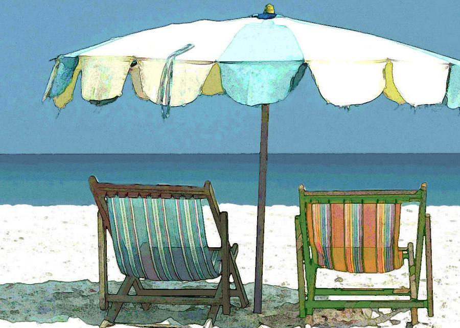 Seaside Beach Umbrellas With Regard To Popular Seaside Beach Umbrella And Chairs (View 23 of 25)