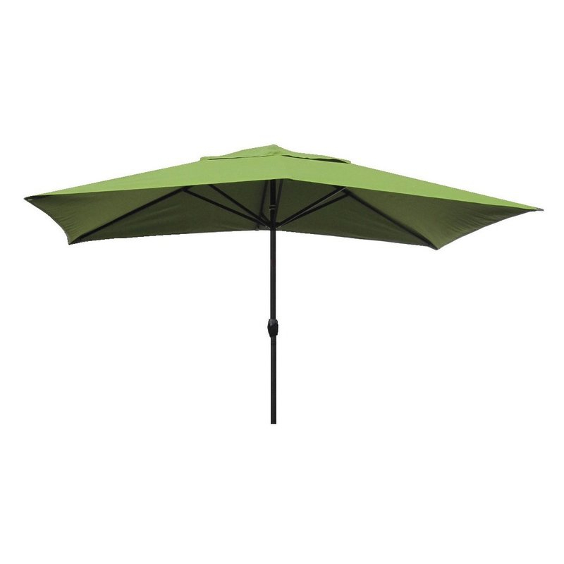 Sherlyn Rectangular Market Umbrellas Pertaining To Newest Gries 10' X 6' Rectangular Market Umbrella (View 18 of 25)