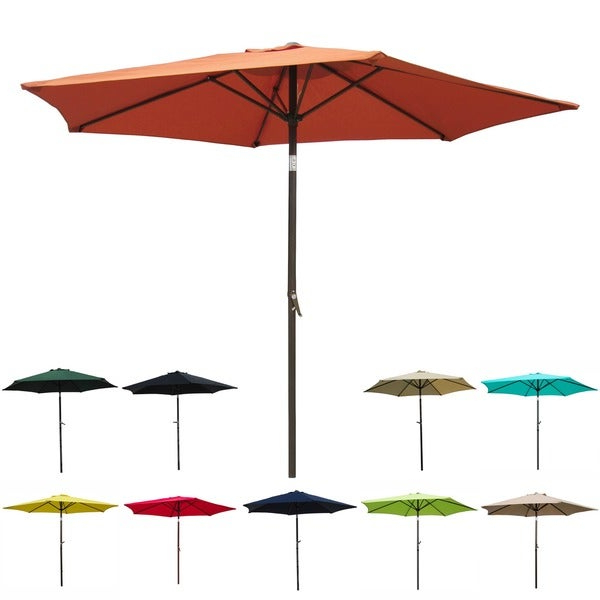 Shop Patio Umbrella 8 Foot – On Sale – Free Shipping Today With Regard To Trendy Frome Market Umbrellas (View 5 of 25)