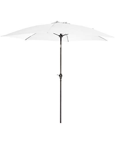 Shropshire Market Umbrellas In Most Recently Released White Patio Umbrella: Amazon (View 13 of 25)