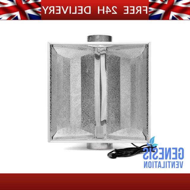 "Silverstar Reflector Air Cooled 150Mm 6 "" Inch Grow Light Inside Fashionable Northfleet Rectangular Market Umbrellas (View 21 of 25)"