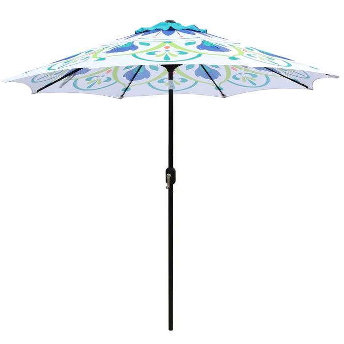 Sittard 9' Market Umbrella Throughout 2018 Frome Market Umbrellas (View 4 of 25)