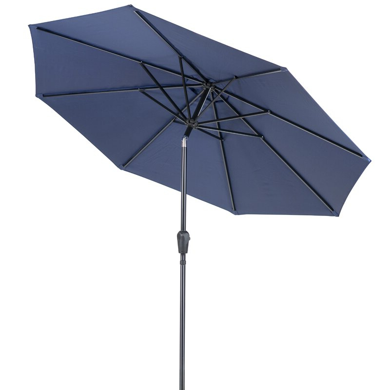 Sittard Market Umbrellas Within Most Recently Released Patio Premier Round 9' Market Umbrella (View 24 of 25)
