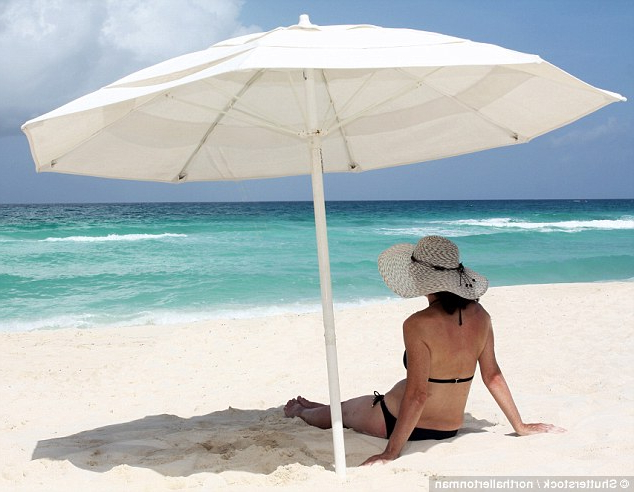 Sitting Under Parasol Doesn't Protect From Sunburn (View 18 of 25)