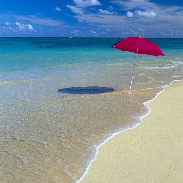 Smithmill Beach Umbrellas Within Fashionable Turquoise Beach Umbrella – Caldwellcountytxoem (View 24 of 25)