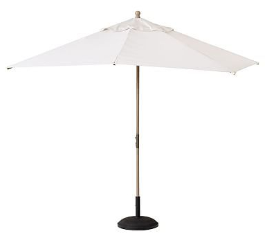 Solid Rectangular Market Umbrellas In Trendy Rectangular Market Umbrella – Solid (View 20 of 25)