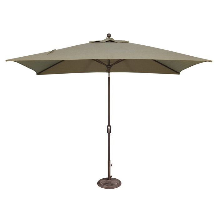 Solid Rectangular Market Umbrellas Regarding Current Launceston 10' X  (View 21 of 25)