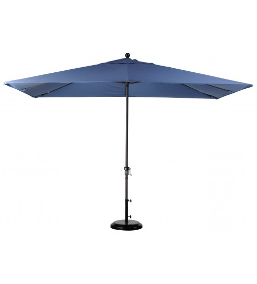 Solid Rectangular Market Umbrellas With Preferred Best Selection Rectangular Market Umbrellas – Featuring Sunbrella (View 16 of 25)