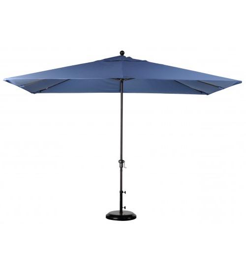Solid Rectangular Market Umbrellas With Preferred Best Selection Rectangular Market Umbrellas – Featuring Sunbrella (View 16 of 25)