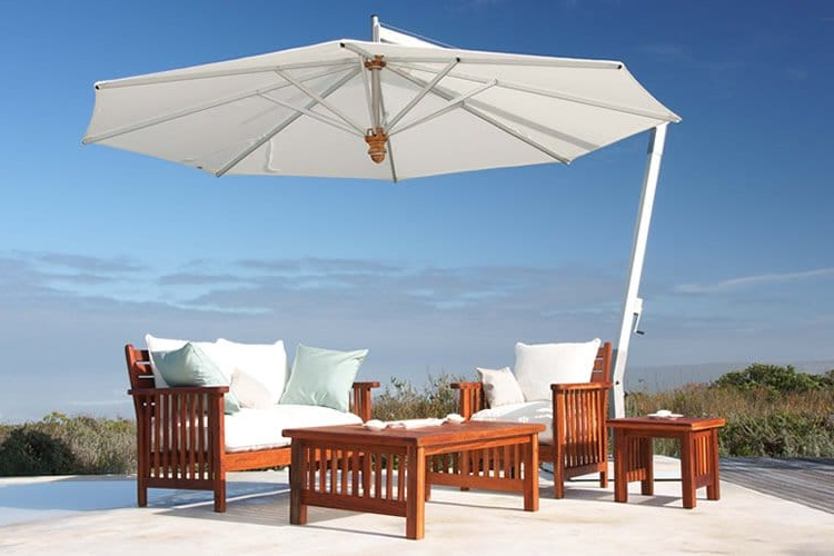 Solid Rectangular Market Umbrellas Within Newest Patio Umbrella Buying Guide – Tips To Choose The Right Shade (View 12 of 25)