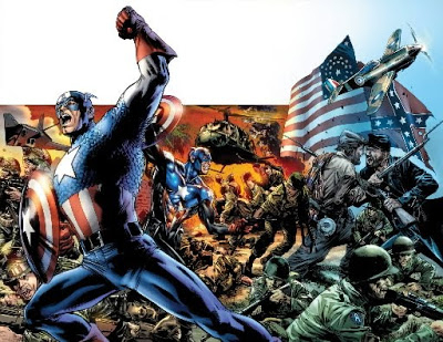 """Some Thoughts On Ed Brubaker & Bryan Hitch's """"captain America With Regard To Fashionable Brubaker Market Umbrellas (View 21 of 25)"""