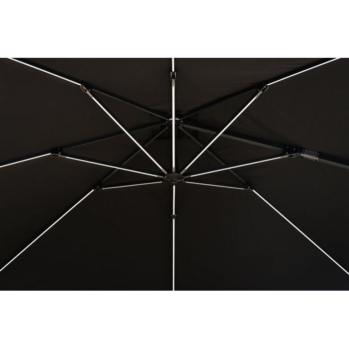 Spitler 10' Square Cantilever Umbrella Inside Recent Spitler Square Cantilever Umbrellas (View 5 of 25)