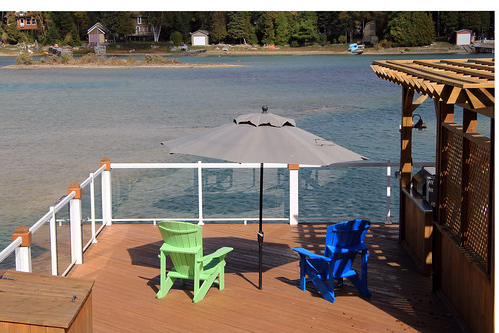 Spitler Square Cantilever Umbrellas Pertaining To Famous Our Property – Relaxing Family Vacation – Mac's Shacks Waterfront (View 19 of 25)