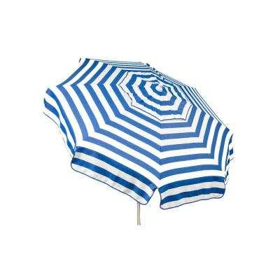 Striped – Drape – Market Umbrellas – Patio Umbrellas – The Home Depot Within Trendy Italian Market Umbrellas (View 22 of 25)