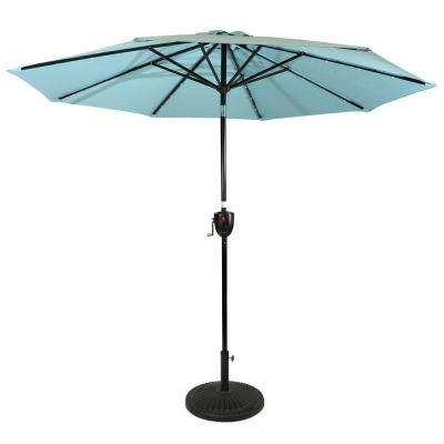Sun Ray Solar Cantilever Umbrellas Inside Well Liked 9 Ft (View 17 of 25)